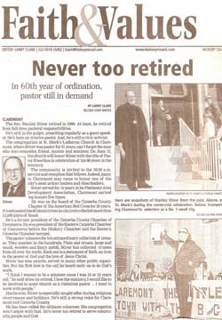 Article on retirement